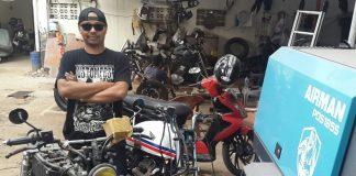 Insan Motor Bikin Tampilan Motor Makin Ciamik