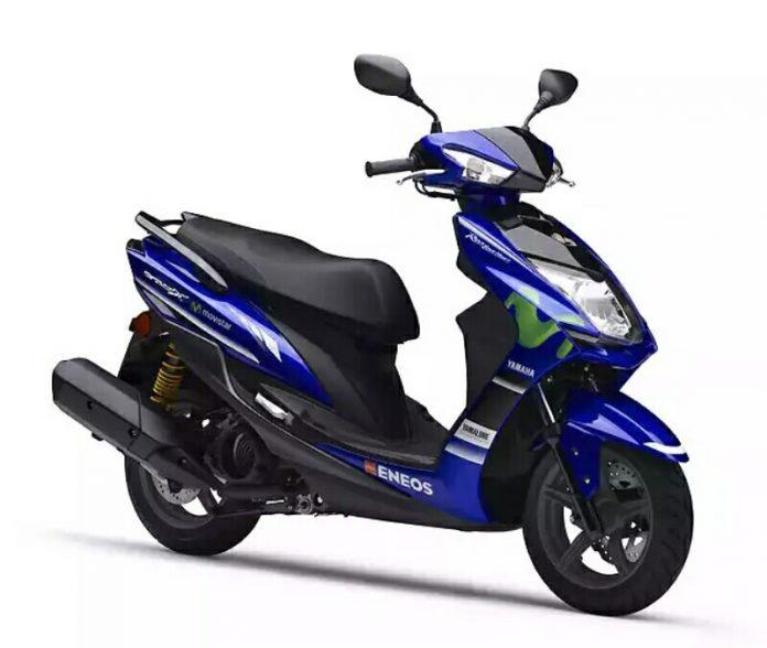 Keren, Skutik Yamaha Cygnus X125SR dengan Livery Movistar MotoGP