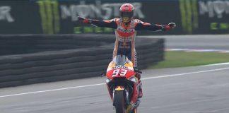 Marquez juara berkat pitstop lebih awal
