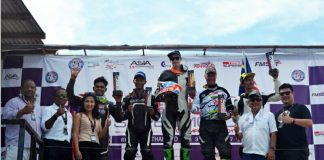 Race FIM Asia SuperMoto 2017 Thailand