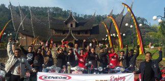 Rally Wisata Kutu Community Jelajahi Sumatera Barat
