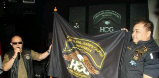 HOG Anak Elang Jakarta Chapter Indonesia