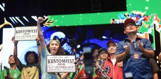 lucky draw Kustomfest 2017