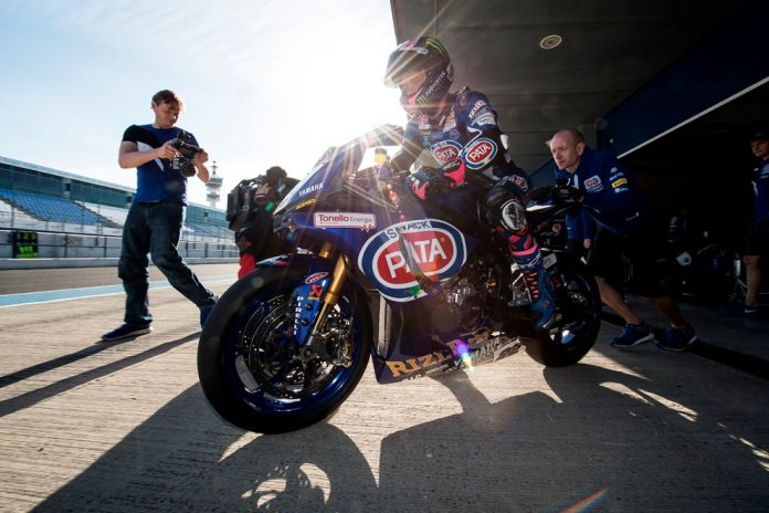 Tes di Jerez, Pata Yamaha WorldSBK