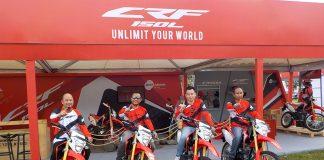 Honda CRF150L di Jawa Barat