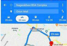 Google Maps meluncurkan navigasi sepeda motor
