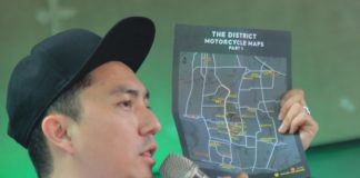 District Motorcycle Maps
