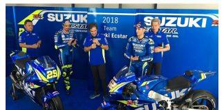 Tim Suzuki MotoGP Memperkenalkan GSX-RR 2018 di Sepang