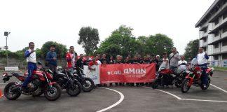 Safety Riding Wahana untuk Komunitas Honda Rebel