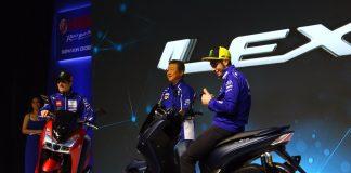 fitur dan spesifikasi Yamaha Lexi Standar dan Lexi-S.