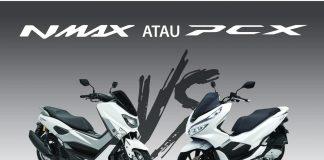 Komparasi All New Honda PCX 150 dan Yamaha NMax 155