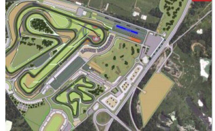 Pembangunan Sirkuit Kymi Ring