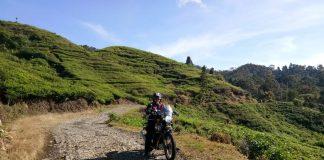 Rider Royal Enfield Friends Taklukan Rute Offroad Ciptagelar