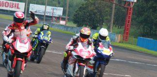 Awhin Sanjaya Rebut Podium Utama Sport 250cc Race 2