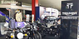 Triumph Speedmaster dan Tiger 800 XCX Meluncur di The 2nd Indonesia Autovaganza