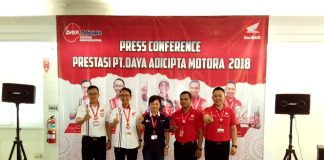 4 Wakil DAM Juara Kontes Layanan Honda Nasional 2018