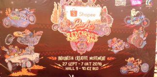 Kemeriahan Shopee Parjo Red Carpet di PRI 2018
