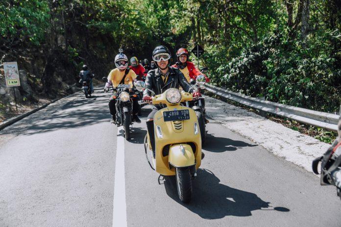 Piaggio Indonesia Mendukung Motorbaik Adventure 2018