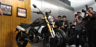 tiga motor baru Ducati Indonesia