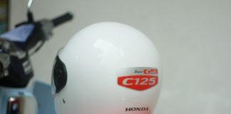 Helm bonus Honda Super Cub C125