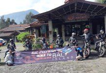 Komunitas Rebel Touring ke Bali