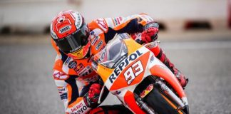 Marquez Sudah Menunggang Motor Balap Lagi