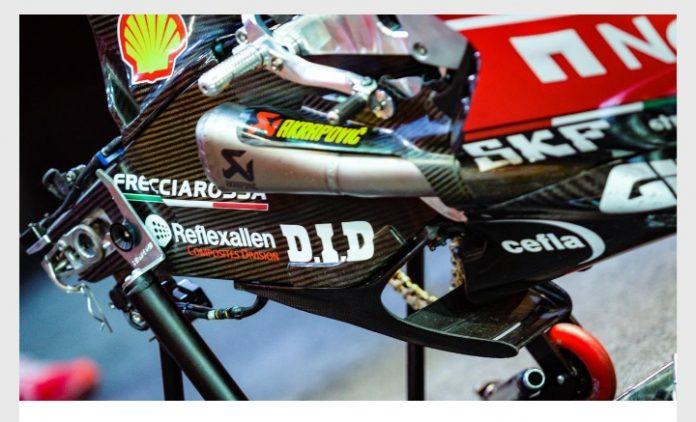 Protes Winglet Swingarm Ducati