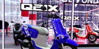Yamaha QBIX 125 Blue Core