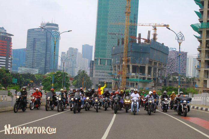Saturday Morning Ride Telkomsel x NaikMotor