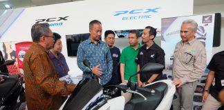 Elektrifikasi Honda di IIMS