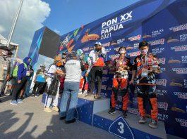 Hasil Balap Motocross PON XX