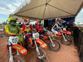 Hasil QTT Motocross PON XX Papua