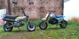Duo Honda Mini Scrambler