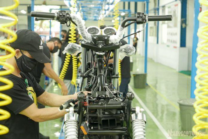 Peresmian Pabrik Baru Benelli