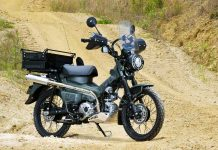 Modifikasi Honda CT125