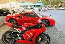 Motor Ferrari berkolaborasMotor Ferrari Honda CBR1000RR Fireblade Ferrari