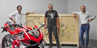 Unit Pertama Ducati Superleggera