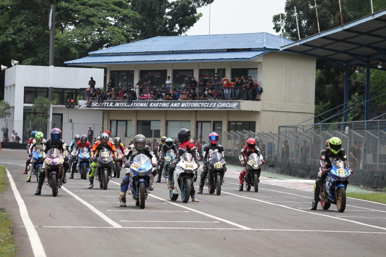 GSX Community Nusantara Gelar Balapan di Sentul Minggu Lalu