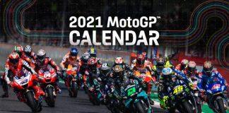 Kalender Sementara MotoGP 2021