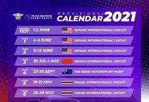 Kalender Sementara ARRC 2021