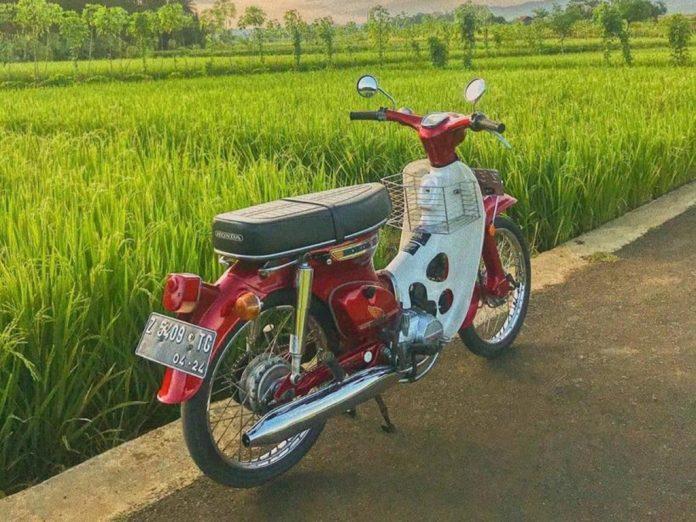 Motor Jadul Honda C70