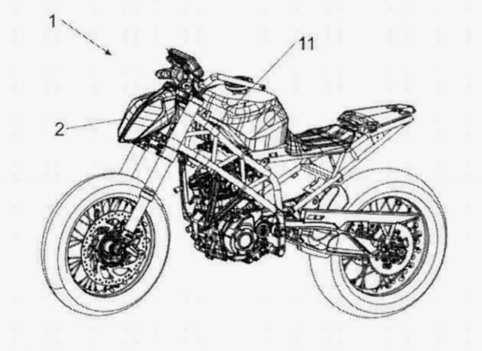 Paten KTM 390 Duke