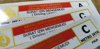 SIM Hilang