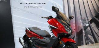 Desain Baru Honda Forza