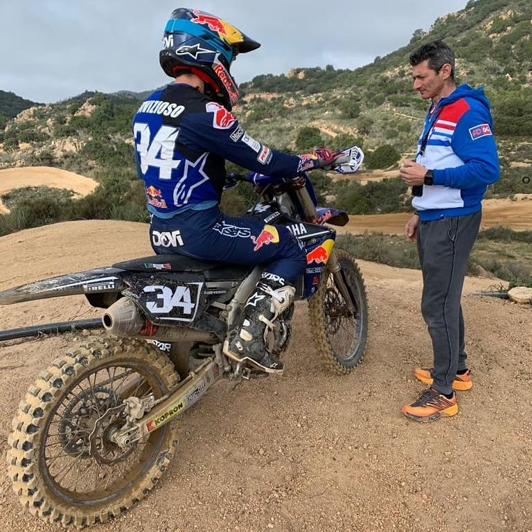 Dovizioso Motocross
