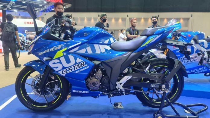 All New Suzuki Gixxer SF