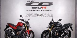 All New CB150R Streetfire