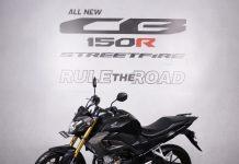 New Honda CB150R Streetfire