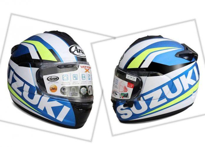 Arai Helmet Suzuki Ecstar