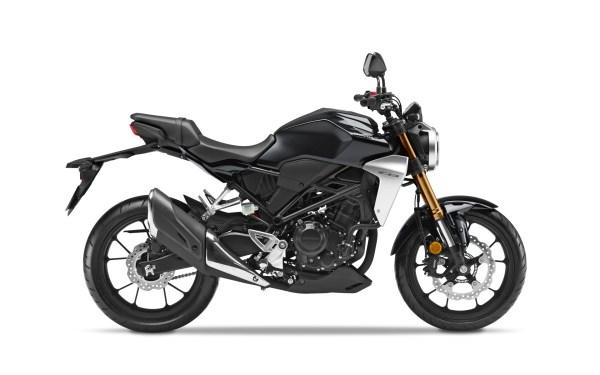 Honda CB300R Black 2021